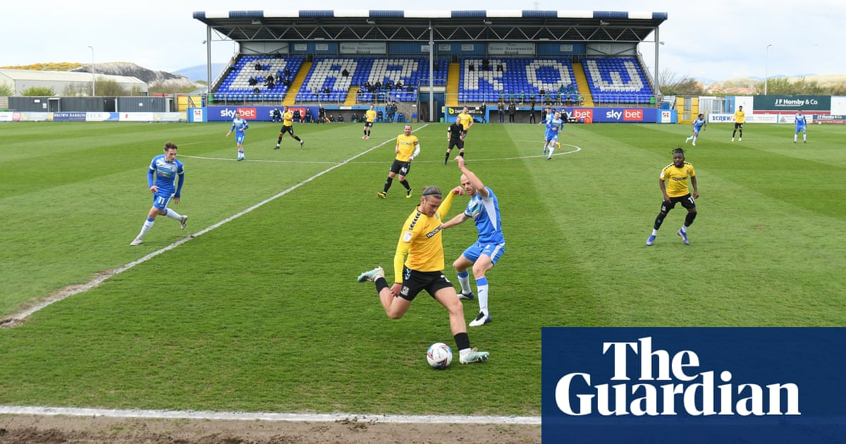 Barrow hope to blow Aston Villa off course in Carabao Cup | Ben Fisher