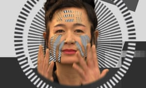 Hito Steyerl in a still from her video piece How Not to Be Seen: A Fucking Didactic Educational. MOV File, 2013.