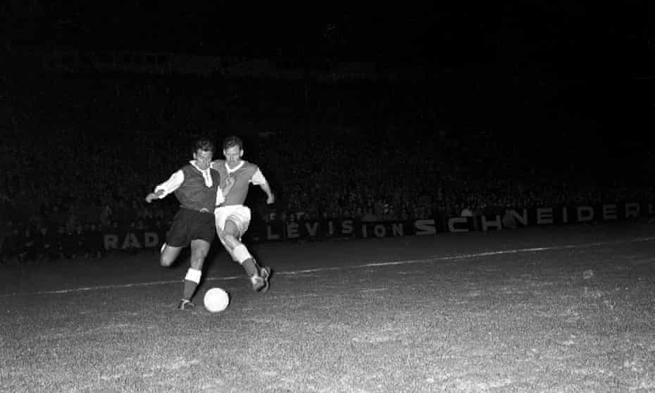 Hibs made it to the European Cup semi-finals, where they were beaten home and away by Stade de Reims.