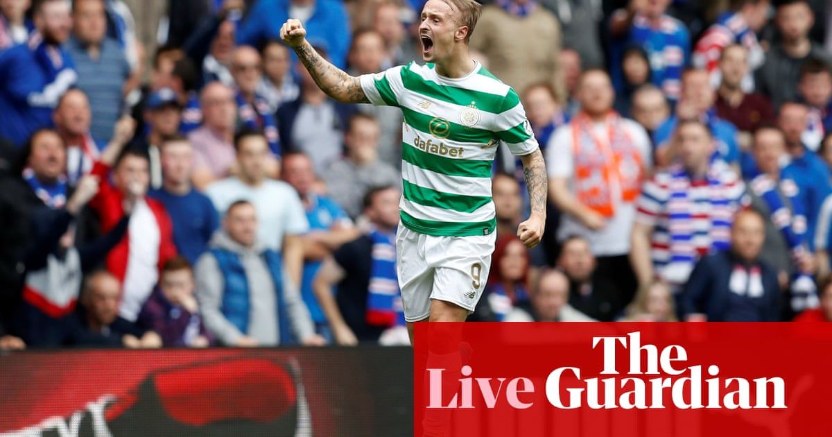 74e80bfb0 Rangers 0-2 Celtic  Scottish Premiership – as it happened