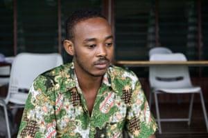Sudanese refugee Omar Jack is among the fewer than 200 refugee men remaining on Manus Island.