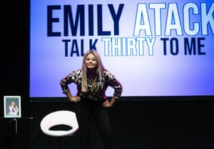 Passion for honesty … Emily Atack.