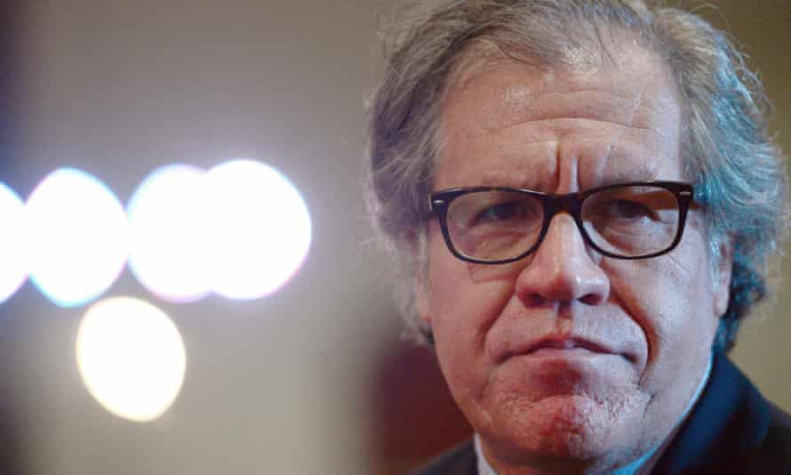 The OAS secretary general, Luis Almagro: This is serious. Members are complaining … We are talking about a country facing a grave and urgent situation.'