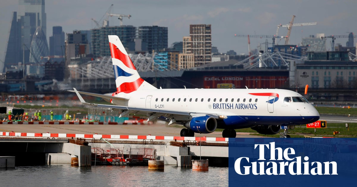 BA and Lufthansa resume flights from London City airport