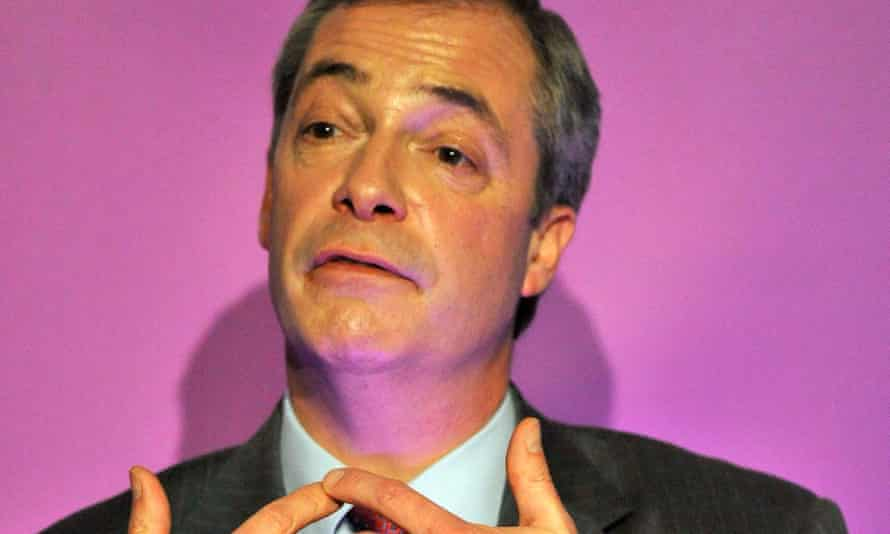 Nigel Farage also criticised the decision of the late Rev Ian Paisley to enter government with Sinn Féin