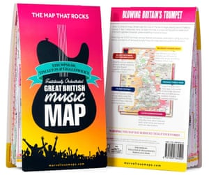 Great Bristish Music Map cover