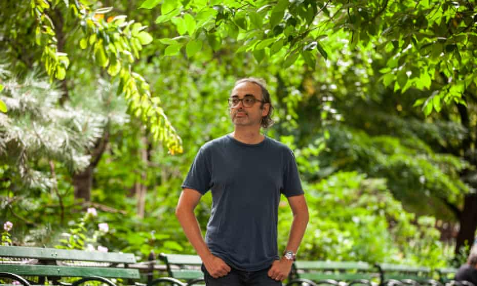 Gary Shteyngart in Manhattan: Little Failure, his recent memoir, was a bestseller.
