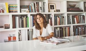 Alexandra Shulman, editor-in-chief of British Vogue.