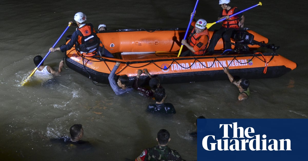 'Holding each others' hands': 11 children drown in Indonesia during river cleanup