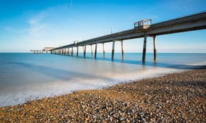 Deal pier in Kent … a pier collapses in Mark Haddon's tale of disaster.