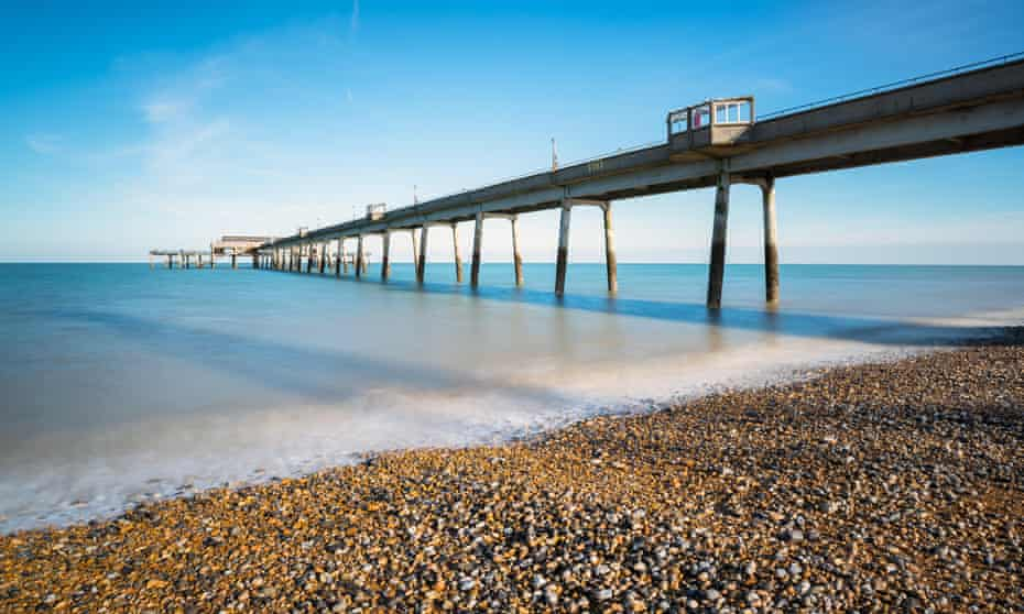 Deal's pier is over 1,000ft long.