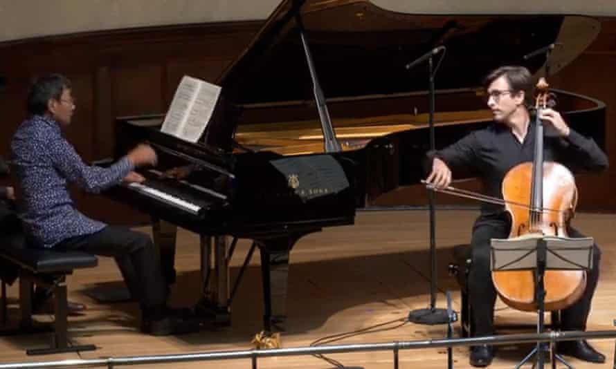 Guy Johnston (cello) and Melvyn Tan (piano)