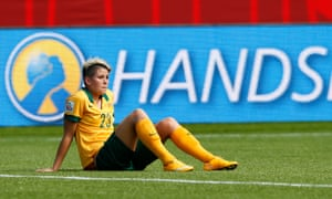 Michelle Heyman, one of the Matildas' stars at this year's Women's World Cup.