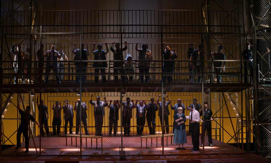 Dead Man Walking at the Teatro Real, Madrid.
