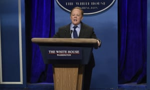 Melissa McCarthy's 'weaponised hostility' as Sean Spicer.