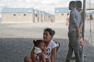 Rondon 1 migrant shelter in Roraima