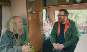Boyle with Jake Williams, a hermit living in rural Aberdeenshire.