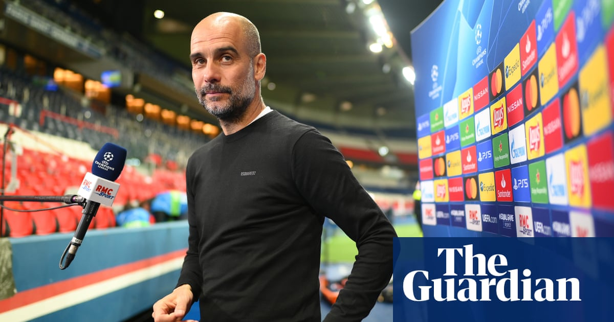 'No cheering': Manchester City players were calm after PSG win, says Guardiola