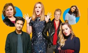 Say sorry... Roseanne Barr; Jason Bateman; Samantha Bee; Josh Homme; Rita Ora and Maya Jama.