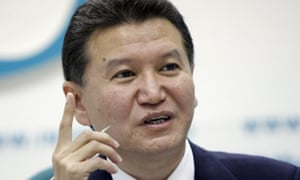 Kirsan Ilyumzhinov says his only involvement with Syria is delivering chess sets to the country.