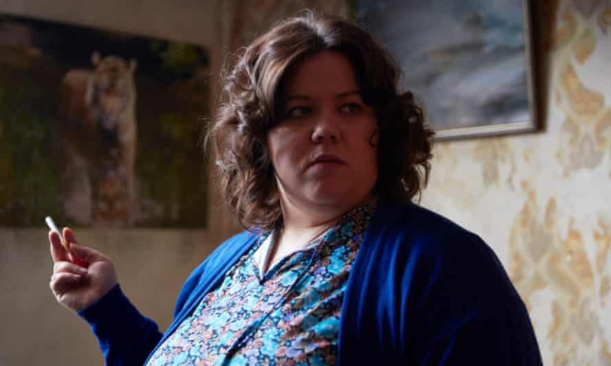 Tough to watch … Ella Smith as Liz in Ray & Liz.