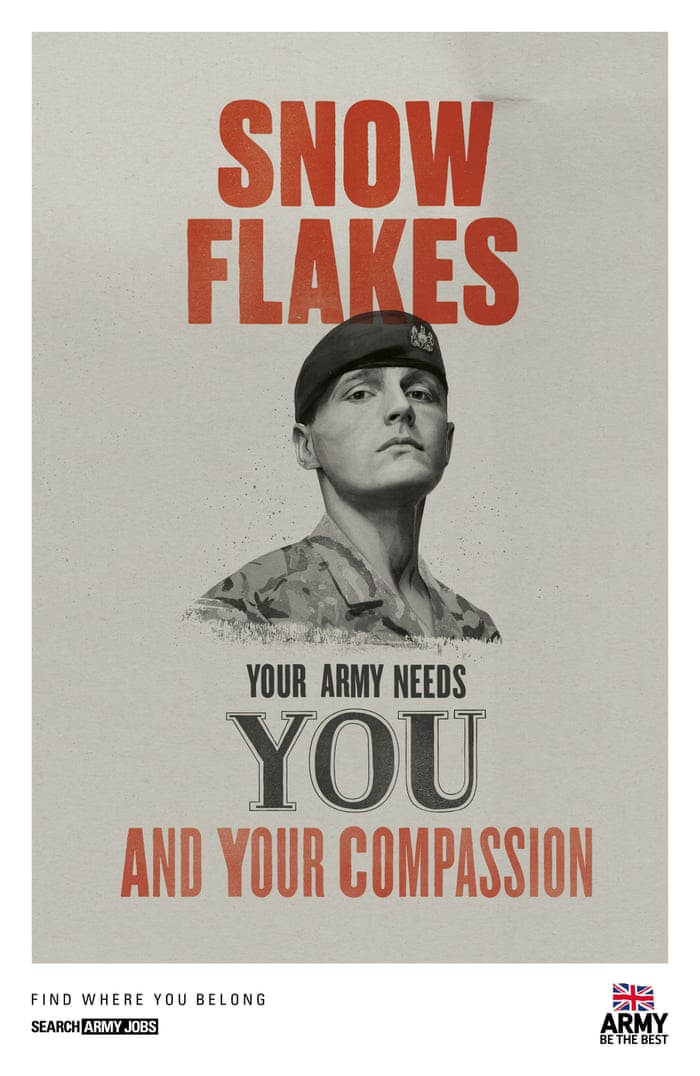 UK army recruitment ads target 'snowflake' millennials | UK