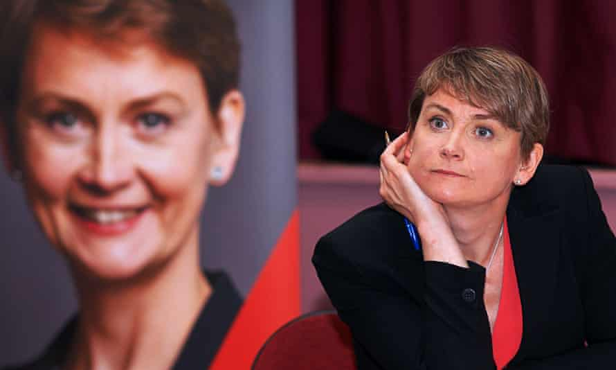 Yvette Cooper campaigns for the Labour leadership in Hounslow