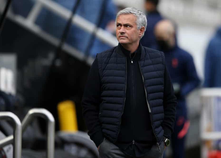 José Mourinho has endured a torrid time at Spurs this season.