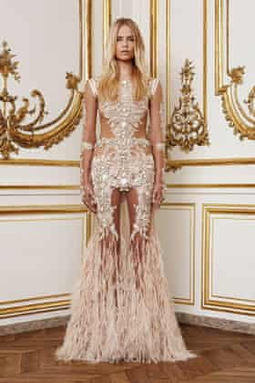 A piece from Riccardo Tisci's couture collection for Givenchy in autumn 2010.