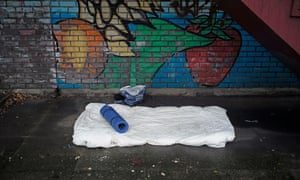 Good intentions may be leading us astray: rough sleeping figures have more than doubled in the past five years.