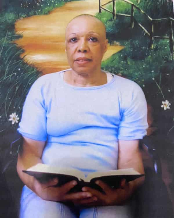Patricia Wright, a prisoner at the California Institution for Women, is battling terminal cancer.