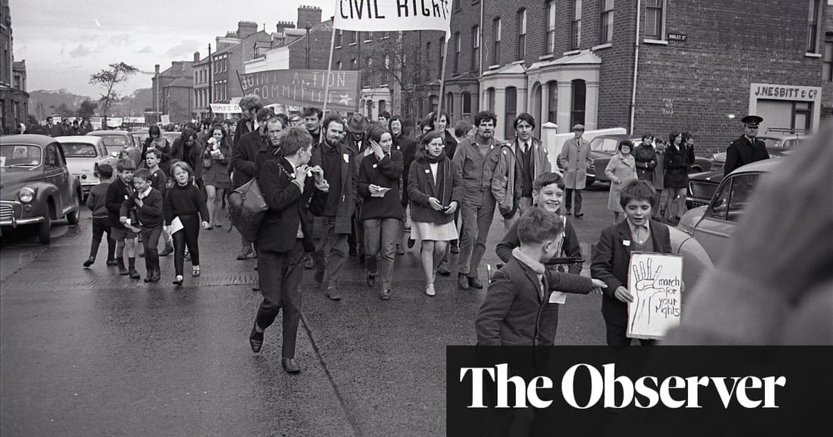 Northern Ireland's lost moment: how the peaceful protests of