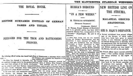 Manchester Guardian, 20 June 1917.