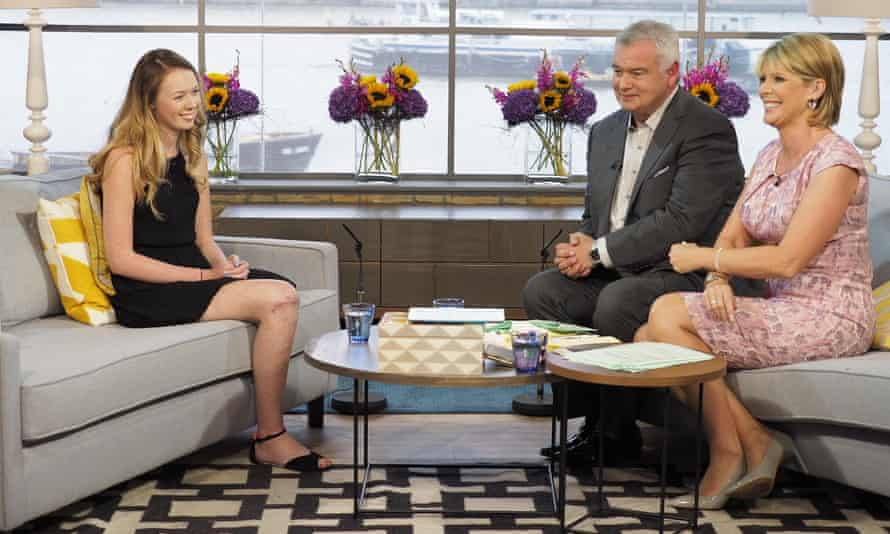 Leah Washington talks about her experience on ITV's This Morning programme.