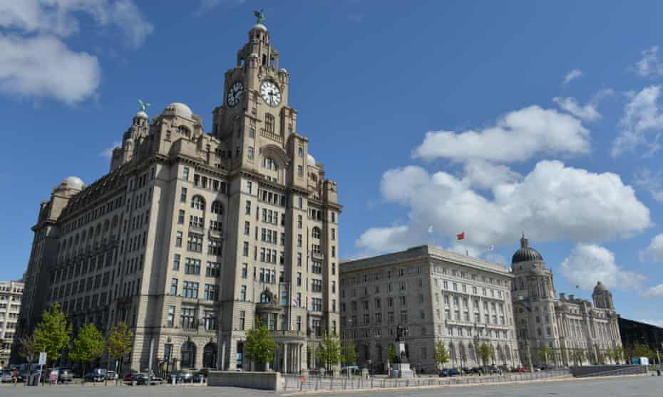 The Three Graces buildings on the Liverpool waterfront pictured in 2015