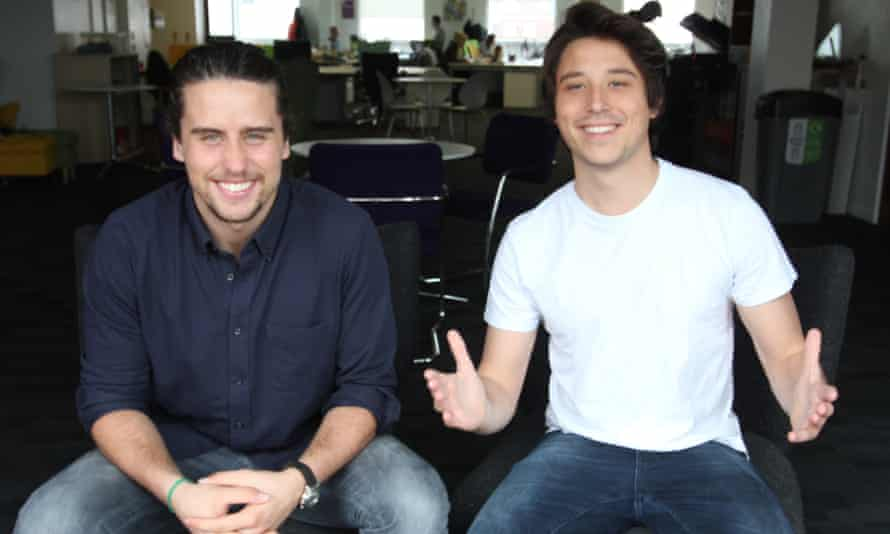 Bombinate founders Massimiliano Gritti and Elliott Aeschlimann Perales.