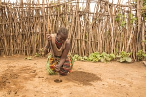 Munyes, 44, Karamoja region, Uganda