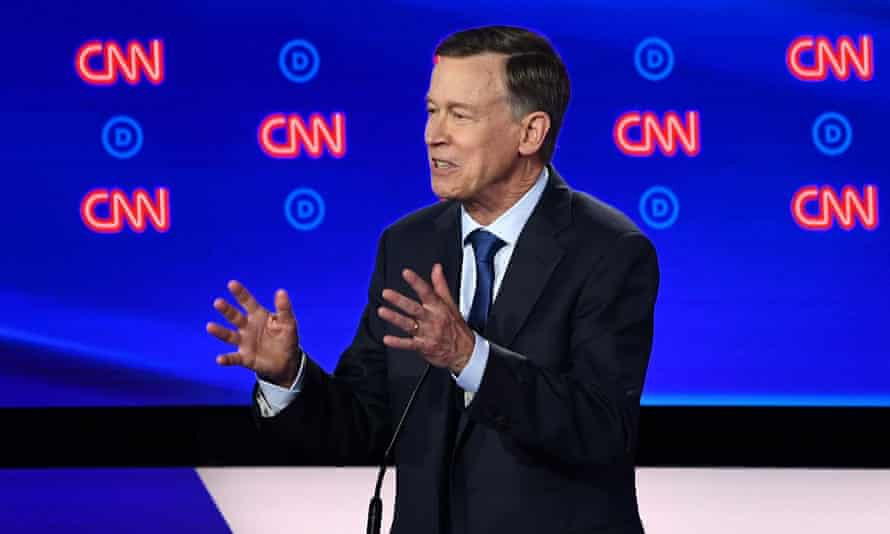 Presidential candidate John Hickenlooper said Bernie Sanders' Medicare for All and a Green New Deal would be a 'disaster at the ballot box'.