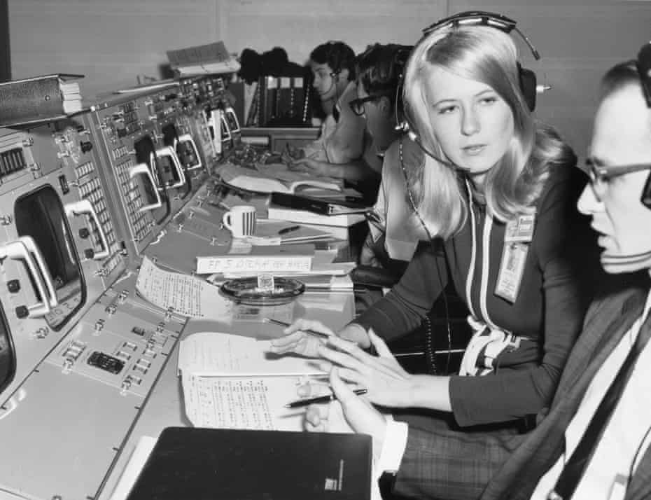 Frances 'Poppy' Northcutt became the first female engineer to be part of mission control at Nasa. 'The mere fact that a lot of women found out for the first time that there was a woman in mission control was a very big deal.'