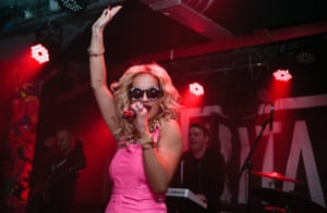 Rita Ora performs at the now-defunct Sound Control in 2012.