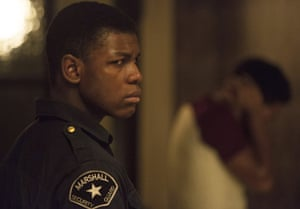 'Wrong place, wrong time' … John Boyega as security guard Dismukes in Detroit.