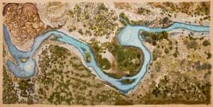 Santa Cruz River by Alexandra Kehayoglou (2017)