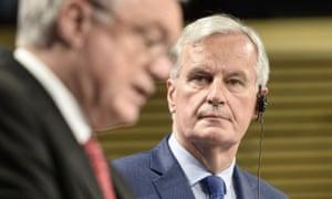 The EU's chief negotiator, Michel Barnier.