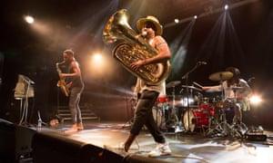 Sons of Kemet performing at Koko, London.