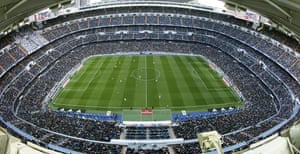 It's a packed house at Estadio Santiago Bernabeu.