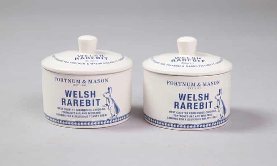 Fortnums elegant Welsh Rarebit