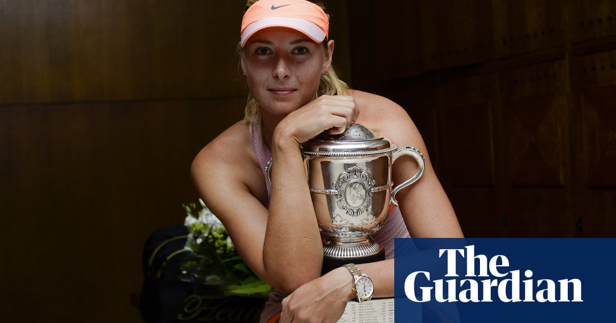 Retirada de la carrera de la estrella del tenis en imágenes 1