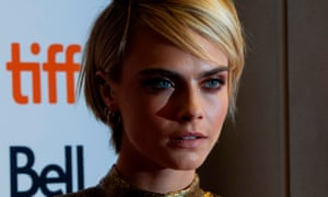 Cara Delevingne at the premiere of new film Her Smell in Toronto.