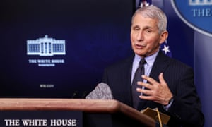 National Institute of Allergy and Infectious Diseases Director Anthony Fauci.