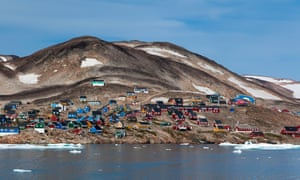 The Inuit settlement of Ittoqqortoormiit, Greenland.